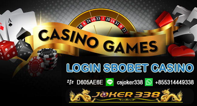 Cara Login Sbobet Casino